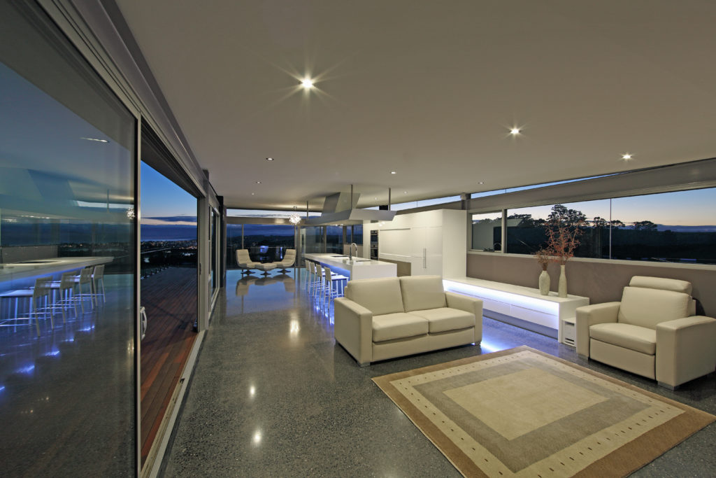 Living rooms with views 'to die for'