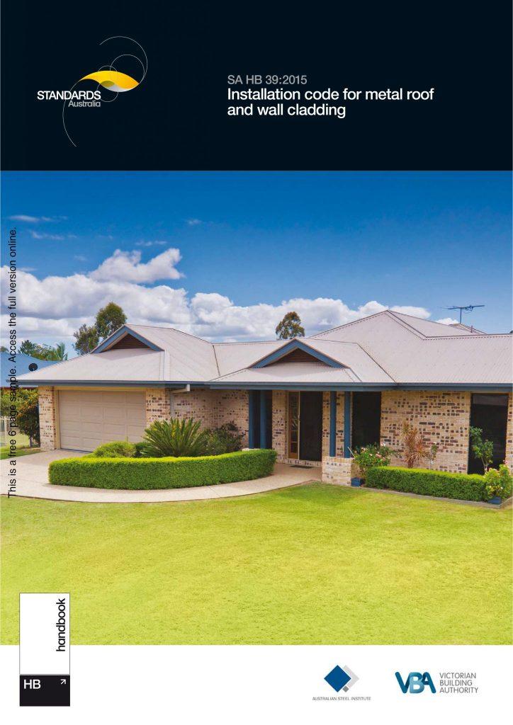 Installation Code for Metal & Wall Cladding Handbook - BDAV News