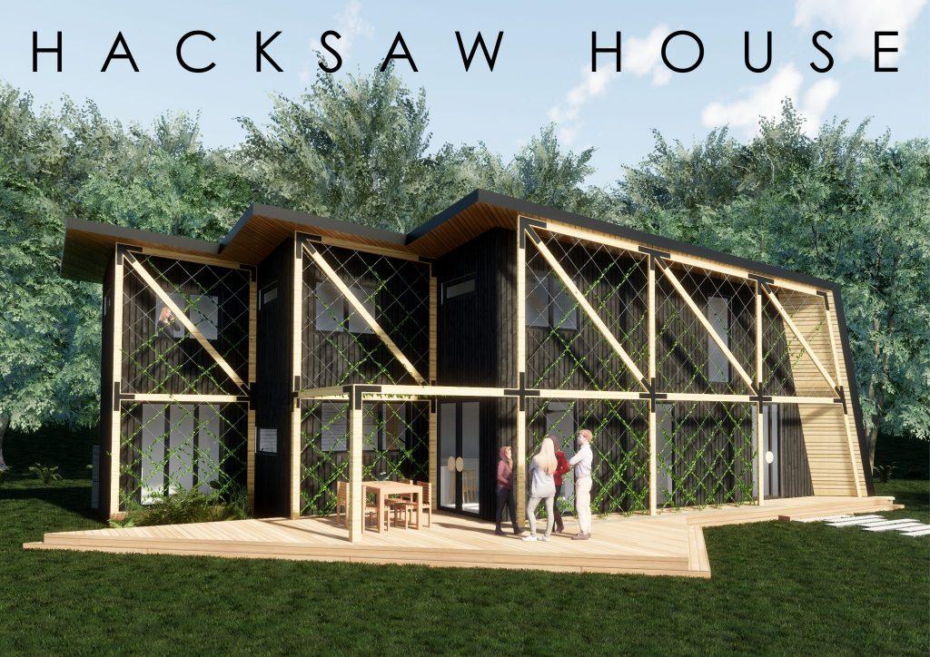 Hacksaw House - winner of BDAV 2018 10-Star Sustainable Design Challenge